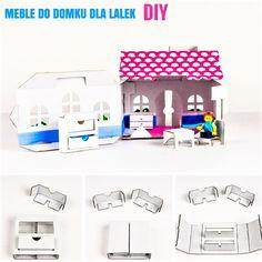 Cardboard House DIY Cardboard House for dolls Doll's cardboard House Diy Cardboard, Dolls, Blog, House, Baby Dolls, Home, Puppet, Doll, Blogging
