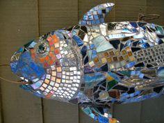 MOSAIC FISH SCULPTURE by SeaJaneStudios on Etsy, $2500.00