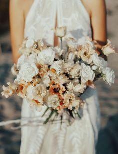 Camargue South of France Bohemian Elopement. Boho Flowers, Bride Flowers, Bride Bouquets, Flower Bouquet Wedding, Floral Bouquets, Green Wedding Shoes, Wedding Colors, Wedding Styles, Wedding Decor