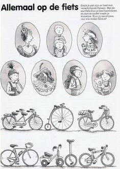 Alles over opa's en oma's :: opa-oma.yurls.net Kindergarten Activities, Preschool, Flowy Shorts, Bicycle Art, Zara Kids, German Language, Vintage Pictures, Fun Learning, Cool Things To Make