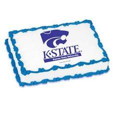NCAA Kansas State University ~ Edible Cake Image Topper ** Check this awesome image : baking decorations