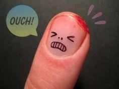 nerd finger art