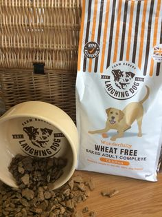 Our Wonderfully Wheat Free Chicken Complete is perfect for slowing down our four legged friends who love to gobble their food down fast!