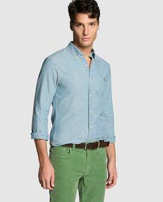Camisa de hombre Polo Ralph Lauren · Polo Ralph Lauren · Moda · El Corte Inglés