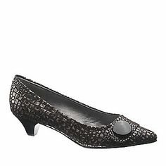 "Soft Style by Hush Puppies ""Aleta"" Pumps in Black"