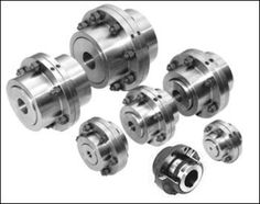 Multiple Flexible gear couplings construction