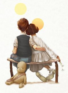 Love this Han & Lea picture with the two suns of Tattooine // holy crap!! I love this!
