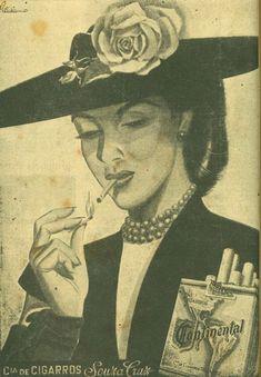 Iba Mendes: Anúncios antigos de cigarros: a participação da mulher Vintage Advertisements, Vintage Ads, Retro, Old Ads, Vintage Market, Out Of Style, Graphic Art, Nostalgia, The Past