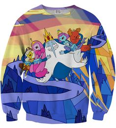 Ice King Snatch sweater, Mr. GUGU & Miss GO