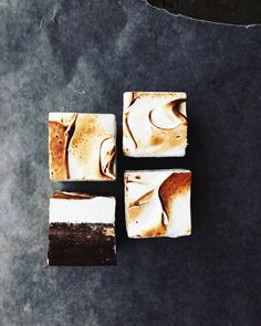 Triple Layer S'mores Brownies