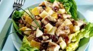 Рецепт салата с охотничьими колбасками