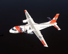 Casa in flight by U.S. Coast Guard, via Flickr