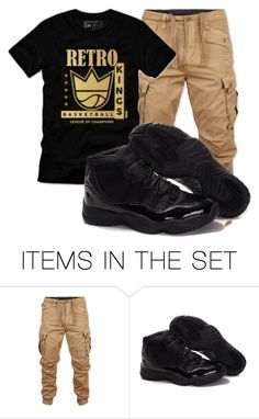 """Retro King💪🏽💪🏽"" by tyreek-1 ❤ liked on Polyvore featuring art"