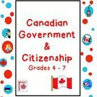 This Canadian Government and Citizenship unit resource covers levels & branches of government, elections, Charter of Rights & Freedoms, immigration & citizenship, etc.  Meets all Grade 5 Ontario curriculum expectations for this unit. $