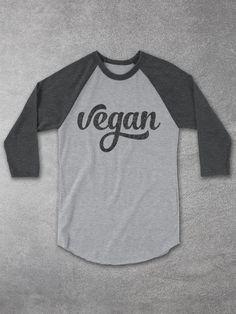 Vegan Shirts | Vegan Baseball Tee – Hello Floyd