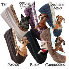 Pet Flys Puppy Sling Dog Carrier #dogs #travel