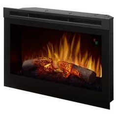 Dimplex 25 in. Electric Firebox Fireplace Insert , Dimplex 25 in. Electric Firebox Fireplace - The Home Depot. Wood Burning Fireplace Inserts, Fireplace Logs, Fireplace Design, Fireplace Ideas, Fireplace Makeovers, Prefab Fireplace, Corner Fireplaces, Propane Fireplace, Basement Fireplace