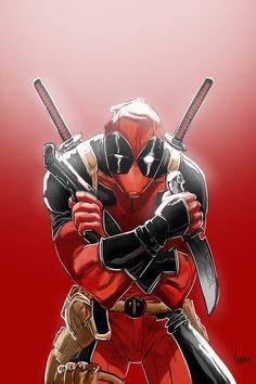 #Deadpool #Fan #Art. (Deadpool) By: A-n-d-r-e--Z. (THE * 5 * STÅR * ÅWARD * OF: * AW YEAH, IT'S MAJOR ÅWESOMENESS!!!™) [THANK U 4 PINNING!!!<·><]<©>ÅÅÅ+(OB4E)
