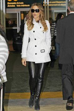 Kate Beckinsale. This betch can rock the leather pants better than any 25 year old.