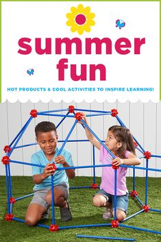 Shop hot products & cool activities that inspire learning all summer long! You'll find tons of super-fun items for kids from birth through grade! Lakeshore Learning, Inspired Learning, Super Secret, Boredom Busters, Summer Activities For Kids, Summer Fun, Education, School, Hot