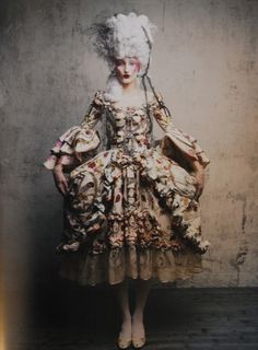 ♥ Romance of the Maiden ♥ couture gowns worthy of a fairytale - 18th Century Fashion by ViVi Antoinette