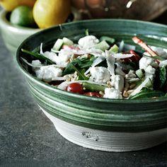 Theme of the Month: Ceramics. Salad bowl by Vestergården, from our shop. Sculpture Clay, Salad Bowls, Ceramic Bowls, Potato Salad, Cabbage, Fresh, Vegetables, Ethnic Recipes, Ceramics