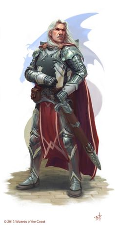 DnD: Captain Havarr, Knight of Bahamut by AnthonyFoti on DeviantArt