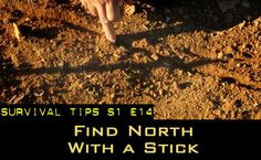 Find North With a Stick