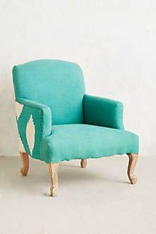 Linen Corrigan Chair - anthropologie.com
