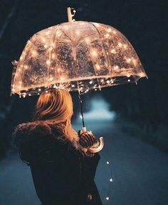 Light Up Rainy Days with This Amazing Umbrella!