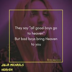 Julia Michaels - Heaven