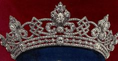 Queen Alexandra of the United Kingdom's Wedding Parure Tiara made by Garrard in 1862 and often called the Rundell Tiara