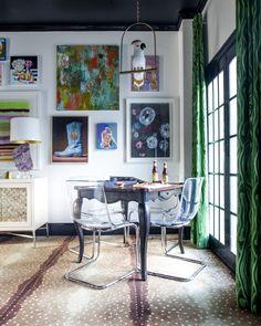Karastan's Aberdale Antelope carpet in The English Room's One Room Challenge Fall 2015