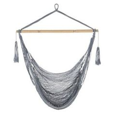 Inspiring Hanging Chair Design Ideas Suitable For Outdoor 18 furniture Hanging Hammock Chair, Hanging Chairs, Outdoor Furniture Chairs, Desk Chairs, Navy Blue Living Room, Chair Types, Porch Swing, New Room, Chair Design