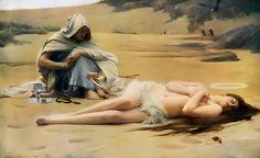 Pelagia-and-Philammon-Arthur-Hacker-Femme-Classic-Art-large