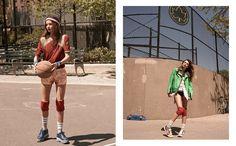 """Body of Proof Part II"" : Miranda Kerr : Vogue Korea July 2013 : Eric Guillemain Metallic Shorts, Vogue Korea, Athleisure Wear, Makeup Designs, Miranda Kerr, Sports Women, Fashion Photography, Editorial, Korean"