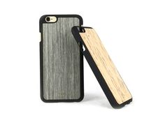Lastu Cover for iPhone 6 & 6 Plus     Made in Finland. Made from real wood like Curly Birch (visakoivu) & kelo. €29  #iPhone #case #cover #wood