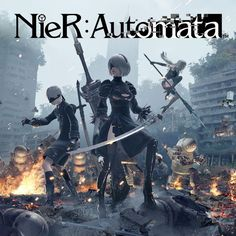NieR Automata : wallpapers officiels