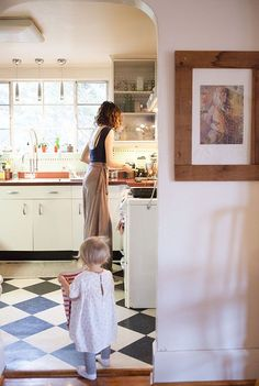 Nashville Painter And Mother Emily Leonard Southard Vie Simple, Humble Abode, Family Life, Kitsch, Baby Love, Home Kitchens, My House, Sweet Home, House Design