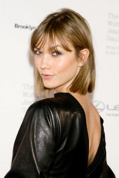 The bob and lob are two of spring's top cuts. See the 36 best celebrity takes on it—here, Karlie Kloss.