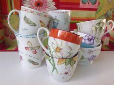Mugs. Pintado a mano  Facebook: DBA Originals. Dolores Basavilbaso