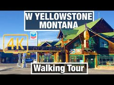 In the video City Walks: West Yellowstone, Montana City Tour - Virtual Walk Walking Treadmill Video City Guide free tour we take you on a free walking tou. Virtual Run, Virtual Field Trips, Virtual Travel, West Yellowstone Montana, Yellowstone National Park, Best Treadmill Workout, Walking Treadmill, Mountain Photography, Scenic Photography