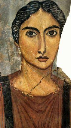 Portrait du Fayoum. Musée du Caire