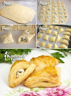 Homemade Puff Pastry Recipe Recipe, How To? – Womanly Recipes – Delicious, Practical and Delicious Food Recipes Site - Essen und Trinkenn Tapas, Puff Pastry Recipes, Puff Recipe, Recipe Recipe, Recipe Sites, Snacks, Sandwich Recipes, Great Recipes, Food And Drink