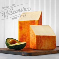Wisconsin muenster for July Cheese of the Month! Yum.