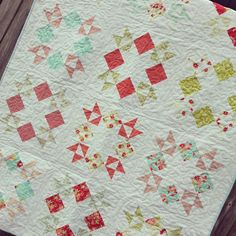 Stacks of stars quilt tutorial.