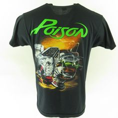 FASTER PUSSYCAT Logo Rock Band Legend Men/'s Black T-Shirt