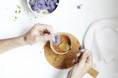 Receta: Brócoli Morado al Vapor con Salsa Sweet Chili