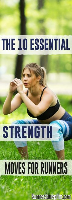 Looking to start strength training as a runner? Then this post is perfect for you. Here are the ten strength exercises every runner and athlete should incoporate into their workout routine. #strength #runners #exercises #strengthtrainingforrunners