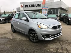 Got another 2017 Mitsubishi Mirage SEL with Apple CarPlay, rearview camera, heated seats, voice control, & more!  See all our Mirage's at www.mitsu.ca